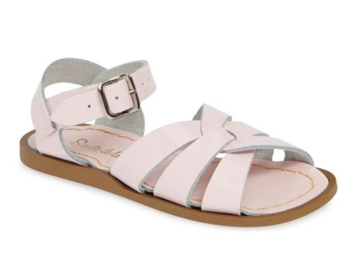 ORIGINAL SHINY PINK KID11-WOMEN10 SALT WATER SANDAL