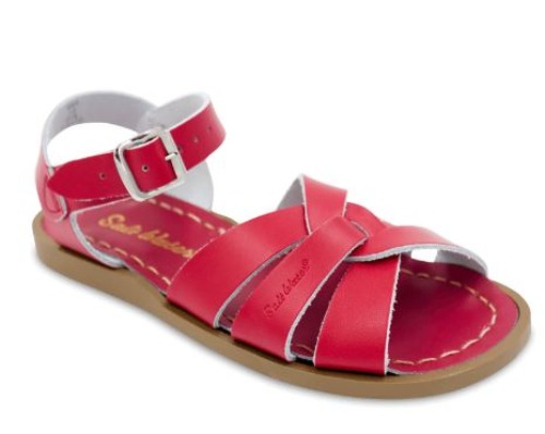 ORIGINAL RED KID11-WOMEN10 SALT WATER SANDAL